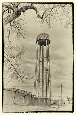 Factory Water Tower