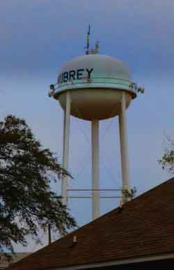 New Aubrey Water Tower