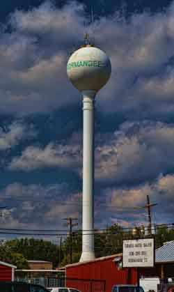 Normangee Water Tower